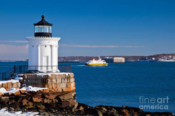 Wall Art - Photograph - Portland Breakwater Lightd by Susan Cole Kelly