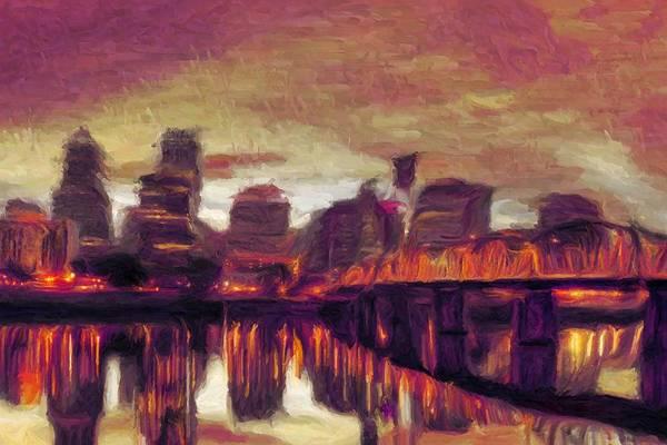 Digital Art - Portland by Caito Junqueira