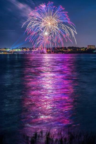 Wall Art - Photograph - Portland Fireworks by Tim Sullivan