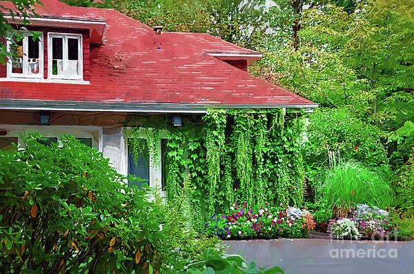 Digital Art - Portland Garden by Kirt Tisdale