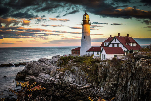 Wall Art - Photograph - Portland Head Light 2 by Tom Weisbrook