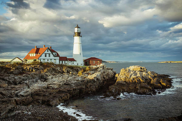 Wall Art - Photograph - Portland Head Light 4 by Tom Weisbrook