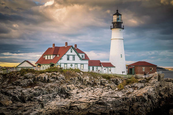 Wall Art - Photograph - Portland Head Light 5 by Tom Weisbrook
