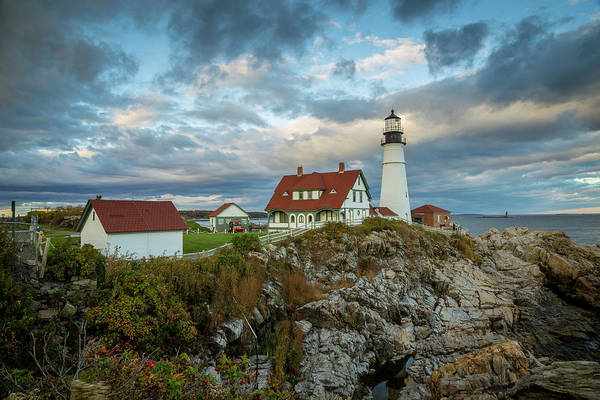 Wall Art - Photograph - Portland Head Light 6 by Tom Weisbrook