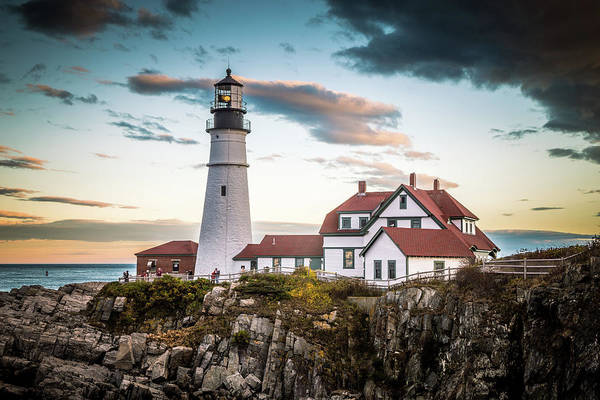 Wall Art - Photograph - Portland Head Light 7 by Tom Weisbrook