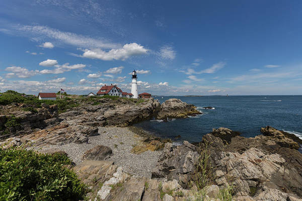 Photograph - Portland Head Light by Brian MacLean