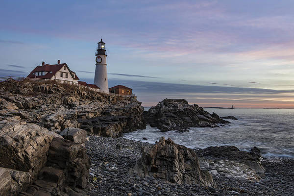 Photograph - Portland Head Light December 2015 by Colin Chase