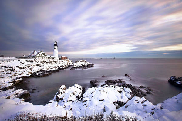 Wall Art - Photograph - Portland Head Light by Eric Gendron