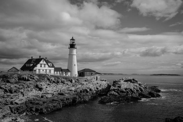 Photograph - Portland Head Light by Kirkodd Photography Of New England