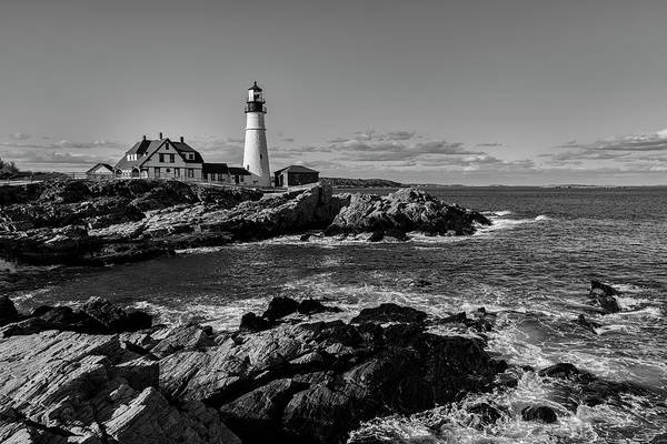 Photograph - Portland Head Light No.34 by Mark Myhaver