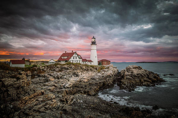 Wall Art - Photograph - Portland Head Light by Tom Weisbrook