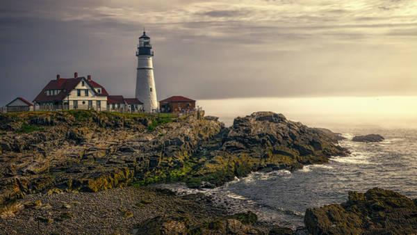 Photograph - Portland Head Lighthouse 2014 by Joan Carroll