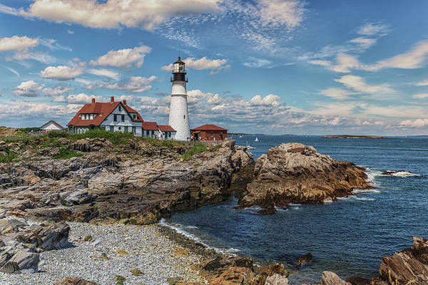Photograph - Portland Head Lighthouse by Brian MacLean