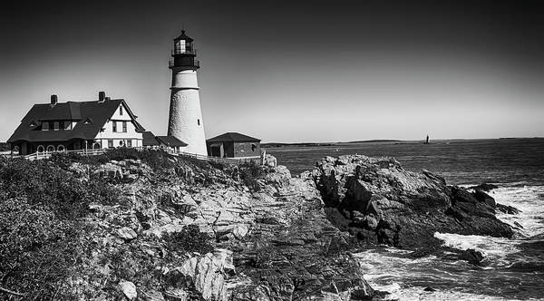 Photograph - Portland Head Lighthouse by Mick Burkey