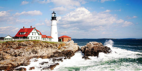 Photograph - Portland Head Lighthouse by Scott Kemper