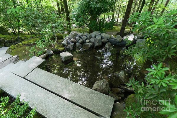 Photograph - Portland Japanese Garden Portland Oregon Dsc6695 by Wingsdomain Art and Photography