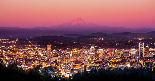 Portland Wall Art - Photograph - Portland Oregon by Russell Wells