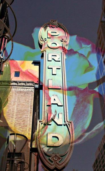 Pdx Photograph - Portland Sign by Cathie Tyler