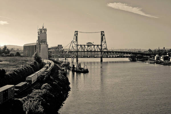 Photograph - Portland Steel Bridge by Albert Seger