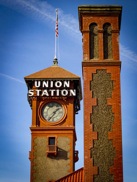 Photograph - Portland Train Station by Jean Noren