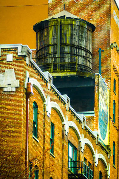 Photograph - Portland Water Tower II by Albert Seger