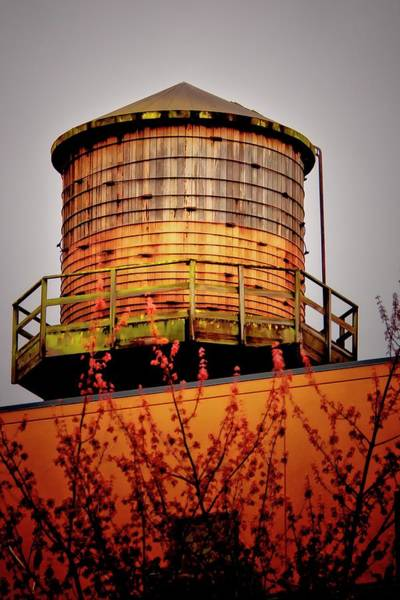 Photograph - Portland Water Tower IIi by Albert Seger