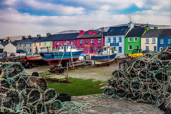 Eire Photograph - Portmagee Harbor by W Chris Fooshee