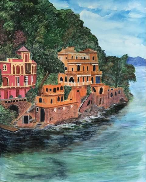 Painting - Porto Fino by Tony Rodriguez
