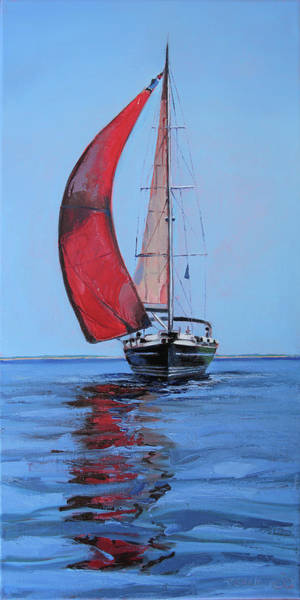 Painting - Portobello Belle by Trina Teele