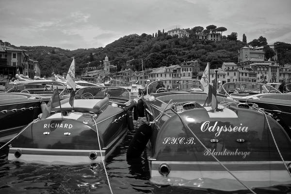 Photograph - Portofino Anchorage 2 by Steven Lapkin