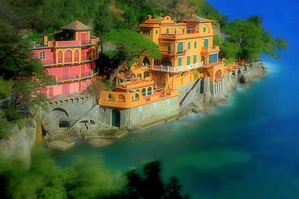 Photograph - Portofino Park Bay by Enrico Pelos