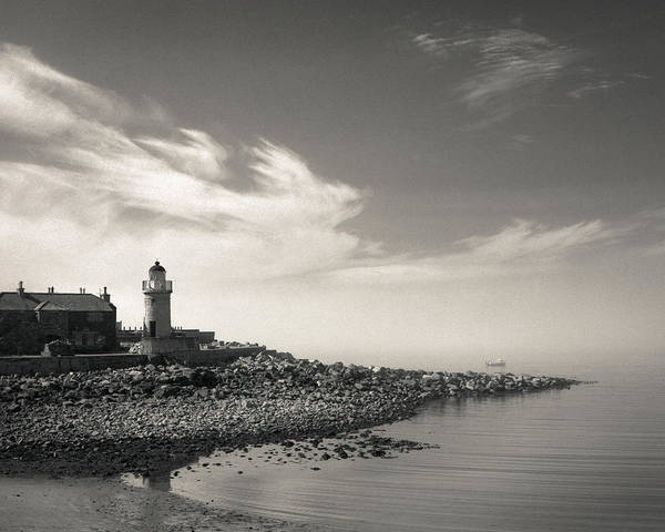 Galloway Wall Art - Photograph - Portpatrick Lighthouse by Dave Bowman