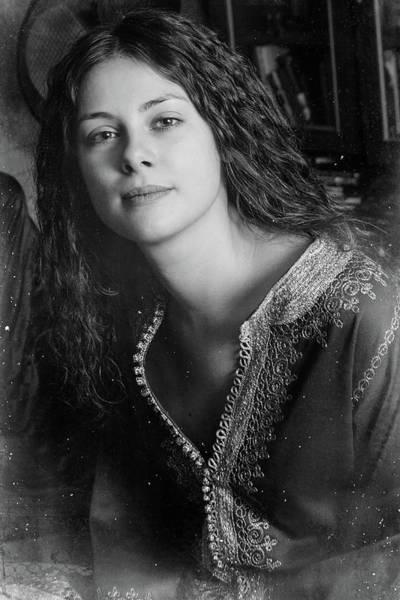 Photograph - Portrait #1688bw by Andrey Godyaykin