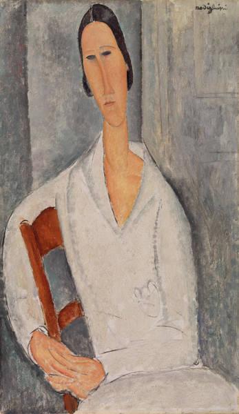 Modigliani Painting - Portrait by Amedeo Modigliani