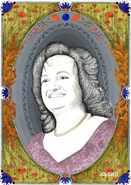 Portrait And Miniature Art Print