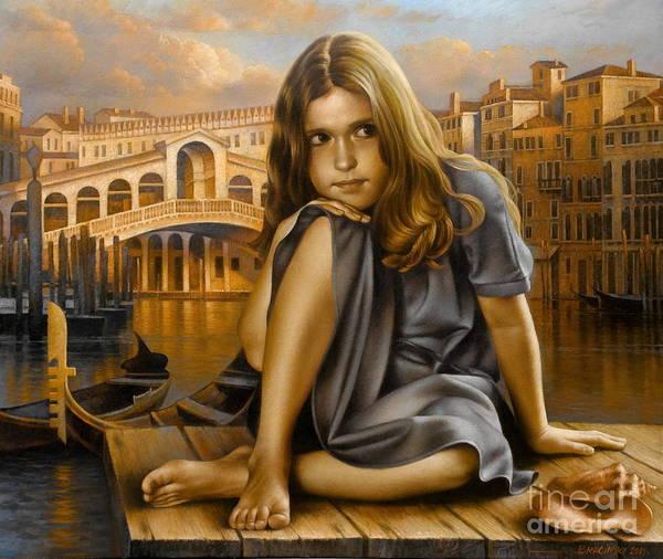 Wall Art - Painting - Portrait by Arthur Braginsky