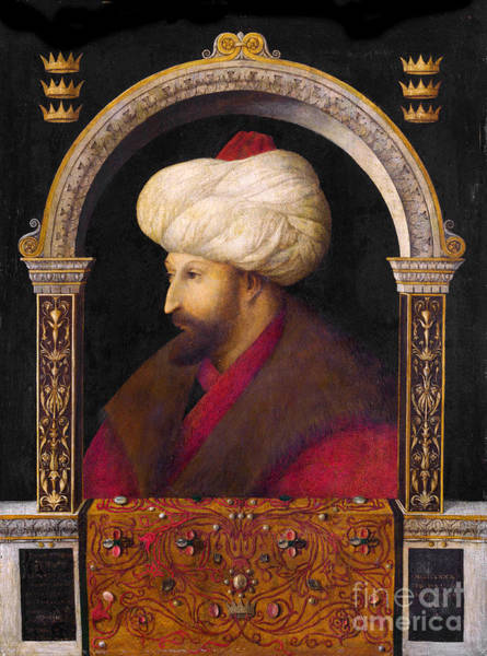 Painting - Portrait Fatih Sultan Mehmed by Celestial Images