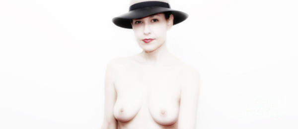 Wall Art - Photograph - Portrait In Hat  by ManDig Studios