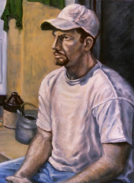 Painting - Portrait Mark by John Clum