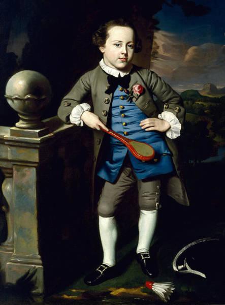 Painting - Portrait Of A Boy by John Singleton Copley