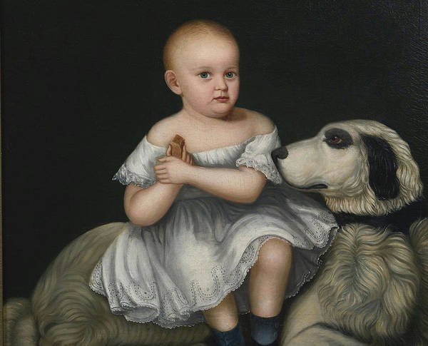 Painting - Portrait Of A Child by Celestial Images