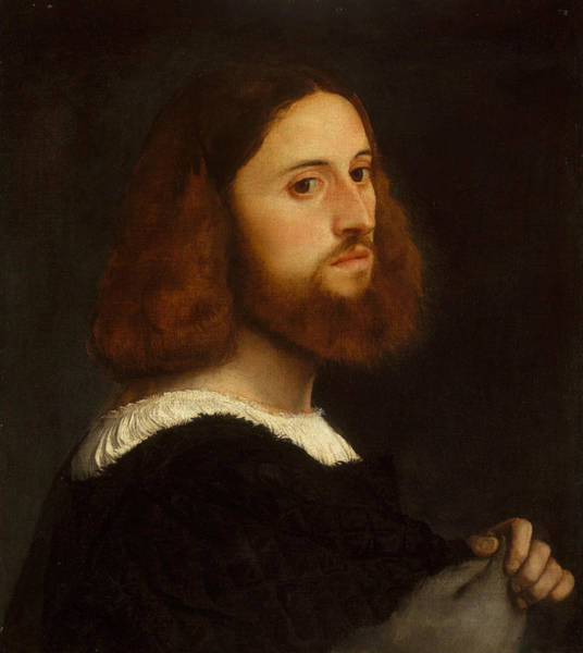 Painting - Portrait Of A Man, Circa 1515 by Titian