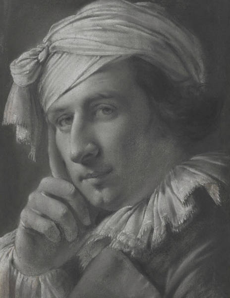 Drawing - Portrait Of A Man by Joseph Wright