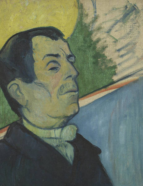 Painting - Portrait Of A Man by Paul Gauguin