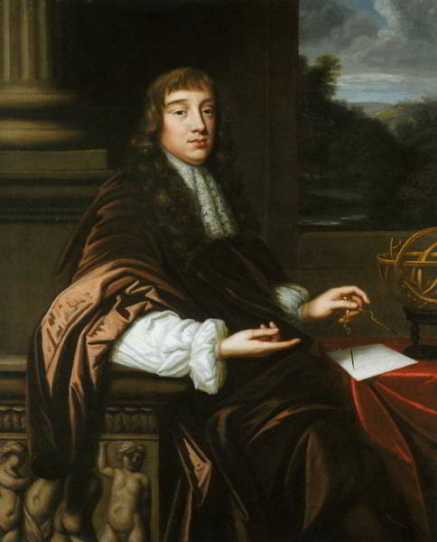 Wall Art - Painting - Portrait Of A Mathematician by Mary Beale