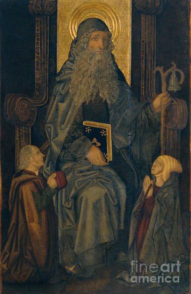Painting - Portrait Of A Saint by Celestial Images
