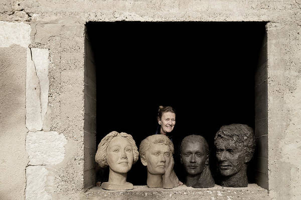 Photograph - Portrait Of A Sculptor by Jean Gill
