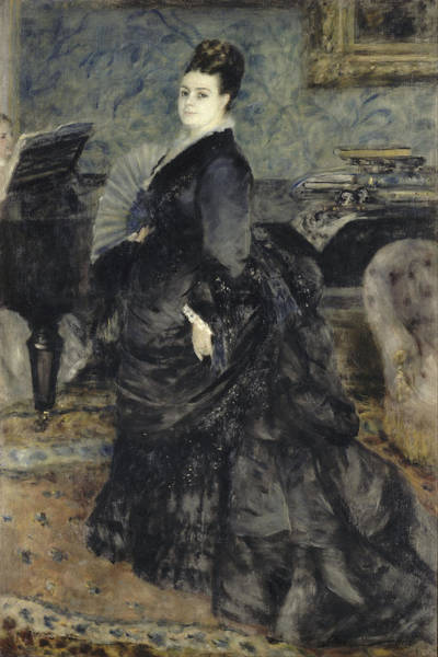Painting - Portrait Of A Woman by Auguste Renoir