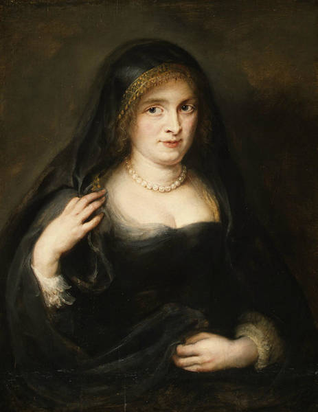 Painting - Portrait Of A Woman, Probably Susanna Lunden by Peter Paul Rubens
