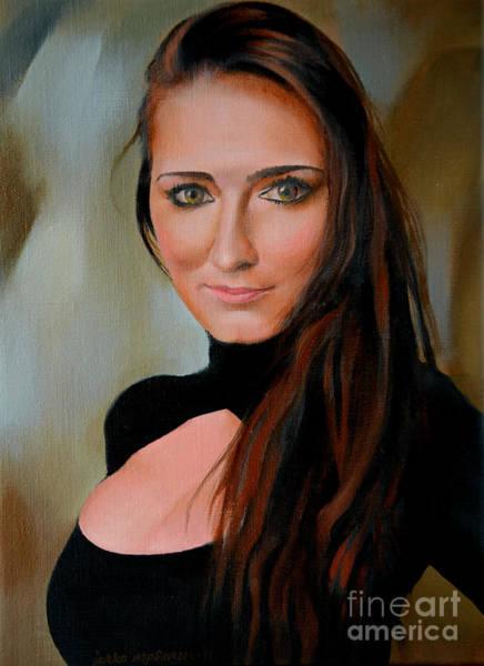 Jukka Nopsanen - Portrait  Of A Young Beauty